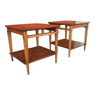 Mid-Century Modern End Tables by Lane - A Pair
