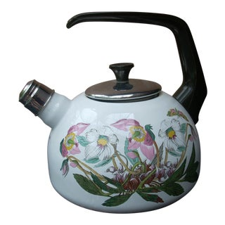 Portmeirion Floral Tea Kettle