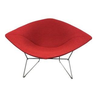 Bertoia Modern Red Diamond Chair