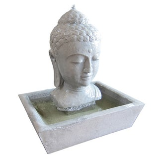 Stone Buddha Table Fountain