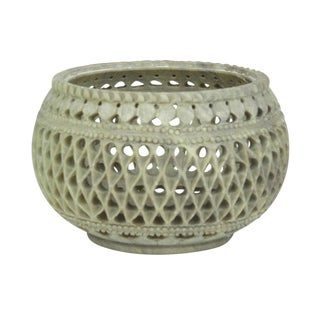 Marble Pierced Bowl