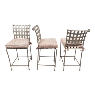 Set of Contemporary Modern Bar Stools