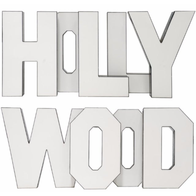 "Vintage ""Hollywood"" Letters - Set of 9 - Image 2 of 5"
