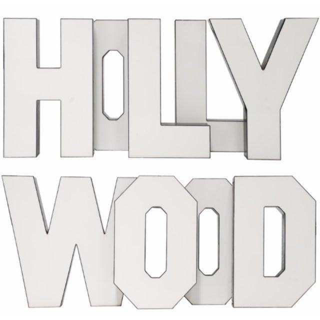 "Image of Vintage ""Hollywood"" Letters - Set of 9"