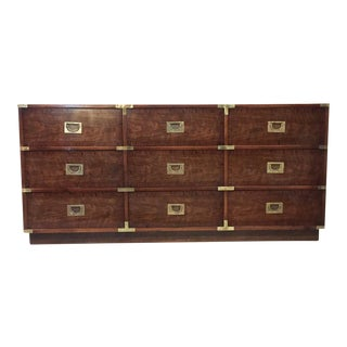 Mid-Century Drexel Campaign Chest of Drawers