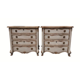 Rocaille Style Nightstands by Hooker Furniture - A Pair