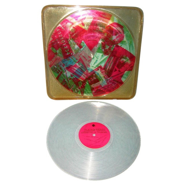 Robert Rauschenberg Talking Heads Art Vinyl - Image 1 of 4