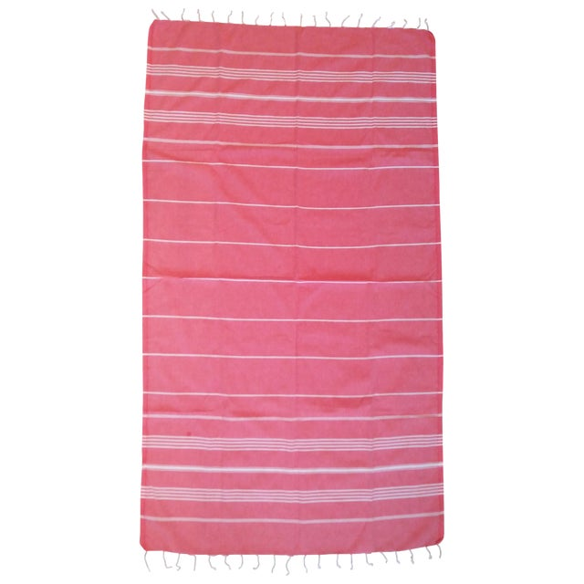 Strawberry Fisherman Striped Towalla Towel - Image 1 of 7