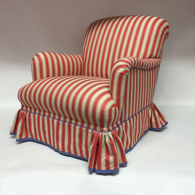 Diamond Baratta Striped Lounge Chair - Image 6 of 6