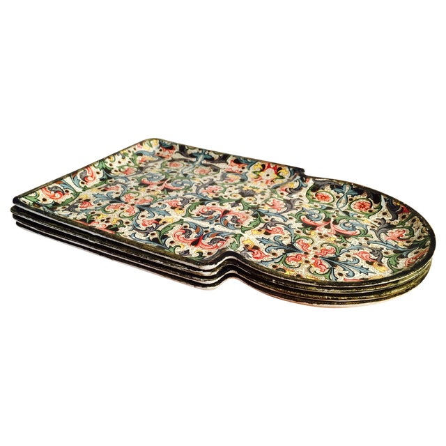 1960's Mod Stacking Serving Plates - Image 1 of 7