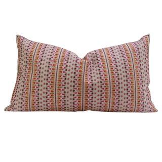 Patterned Swati Tribal Pillow