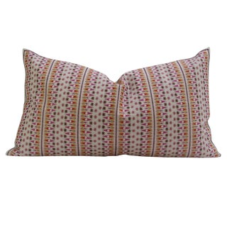 Patterned Swati Tribal Pillow