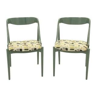 Teak Midcentury Side Chairs - Pair