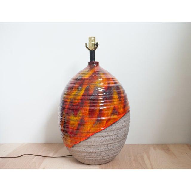 Large Mid-Century Lava Drip Lamp - Image 3 of 7