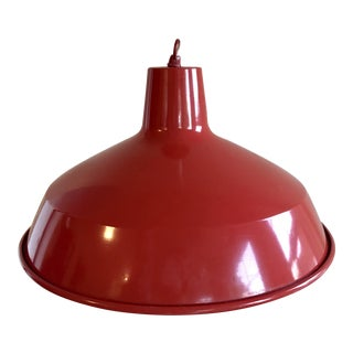 Red Barn Pendant Light