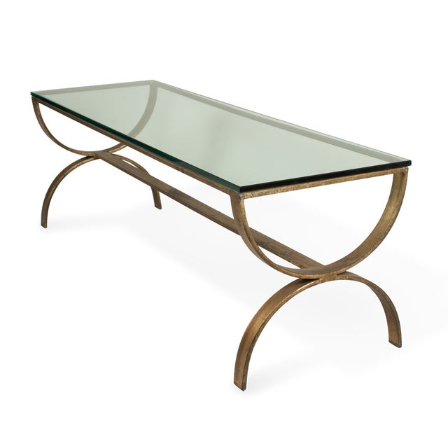 Gilt Steel Coffee Table - Image 3 of 6