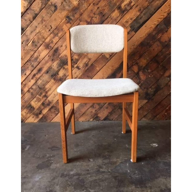 Vintage Danish Style Teak Dining Chair - Image 2 of 5
