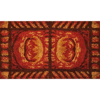 "French Accents Turkish Hooked Area Rug 67"" x 45"""