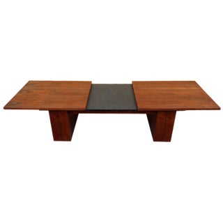 Mid-Century Expanding Coffee Table