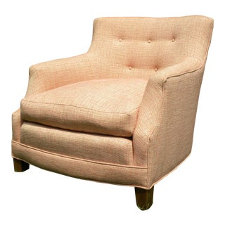 Vintage Upholstered Lounge Chair
