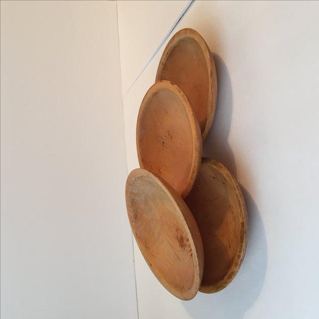 Primitive Wood Bowls - Set of 4 - Image 11 of 11