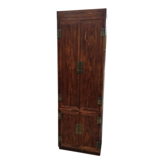 Henredon Scene One Campaign Collection Armoire