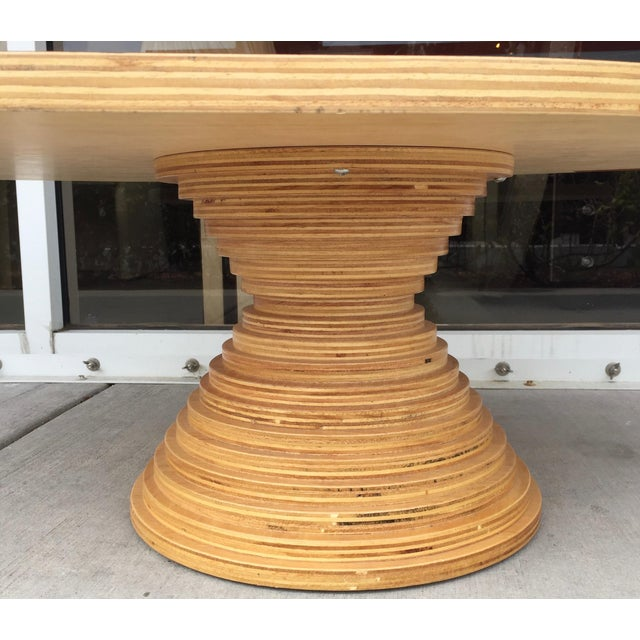 Compressed Wood Logs ~ Fernando jaeger compressed wood coffee table chairish