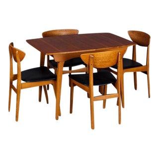 Danish Mid-Century Modern Teak Dining Set