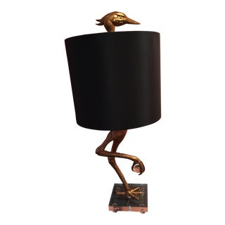 Ibis Gilded Lamp