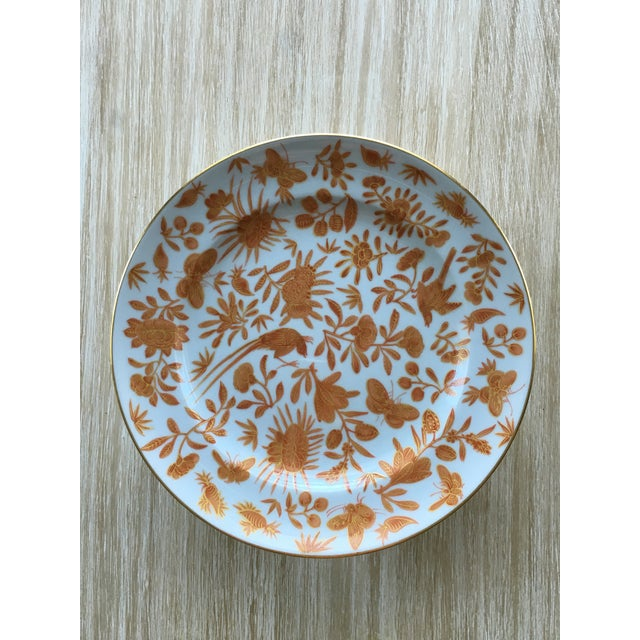 Mottahedeh Bird Butterfly Salad Plates - Set of 5 - Image 2 of 6