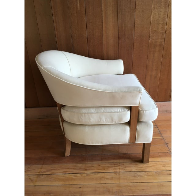 """Linden"" Chair + Custom Upholstery Service - Image 3 of 5"