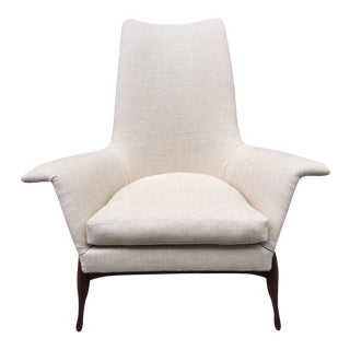 Ib Kofod-Larsen Danish Modern Lounge Chair