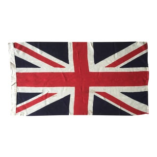 Antique Wool Union Jack Flag