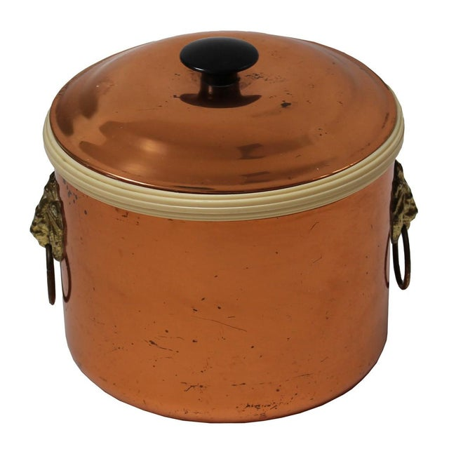 Vintage Copper Ice Bucket - Image 1 of 4