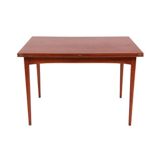 Danish Modern Extendable Walnut Dining Table