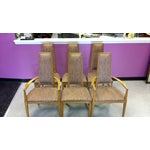 "Image of Mid-Century Lane Co. ""Rhythm"" Dining Chairs - S/6"