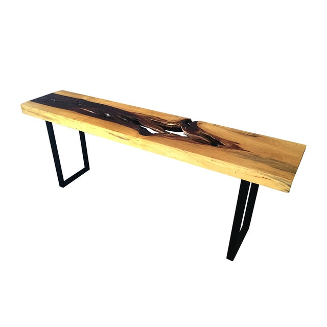 Tamarind Slab Console Table - Image 4 of 4