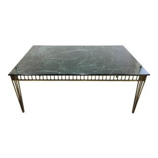 Handmade Green Marble Top Table