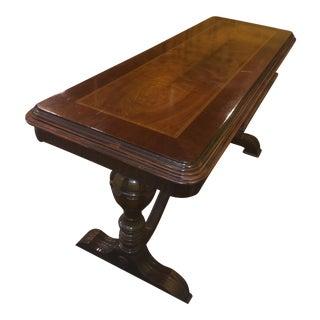 Antique Walnut Sofa or Hall Table