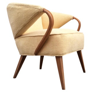 Art Deco Bentwood Arm Accent Chair
