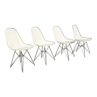 Eames Dkr-2 for Herman Miller Wire Chairs - Set of 4