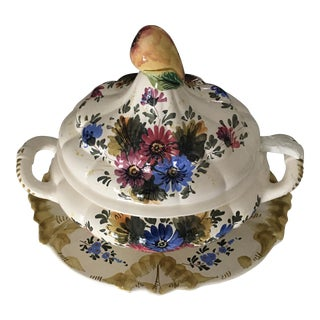 Italian Hand Painted Soup Tureen