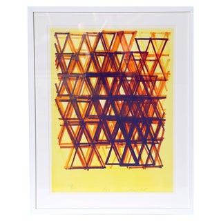 """""""Rhythm Series IV"""" Leo Bates Serigraph"""
