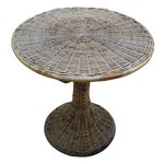 Image of Wicker Accent Table