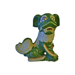 1960s Large Ceramic Foo Dog