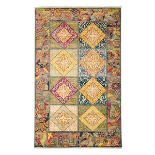 """Ziegler, Hand Knotted Area Rug - 4' 3"""" X 6' 9"""""""