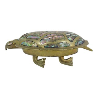 Inlaid Abalone Turtle Box