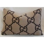 Image of Gucci Cashmere & Velvet Pillows - Pair