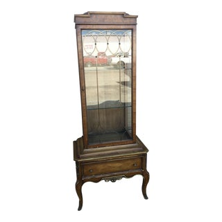 Weiman Mid-Century French Style Curio Cabinet