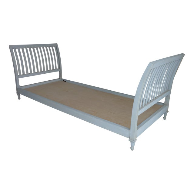 Image of Grey-Blue Modern Daybed